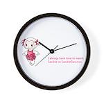 Lambie Wall Clock