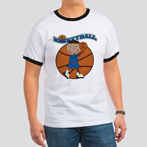 AA Boy Basketball Ringer T
