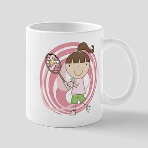 Girl Playing Tennis Mug