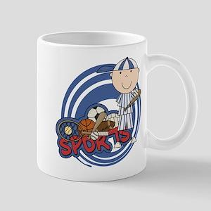 Boy Baseball All Star Mug