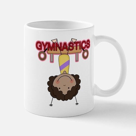 Girl Gymnast Doing Flips Mug