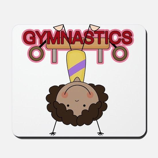 Girl Gymnast Doing Flips Mousepad