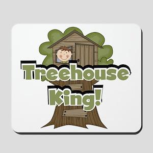 Treehouse King Mousepad