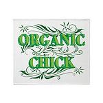 Organic Chick Throw Blanket