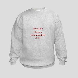 Ghostly Adventure Kids Sweatshirt