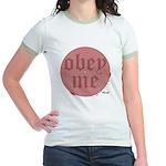 Trance-Obey Me Jr. Ringer T-Shirt