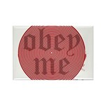 Trance-Obey Me Rectangle Magnet