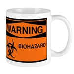 Biohazard Orange Mug