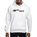 I Club Baby Seals Hooded Sweatshirt