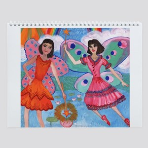 Fairies, Mermaids and Bird People Wall Calendar