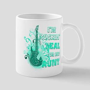 I'm Rockin' Teal for my Aunt Mug