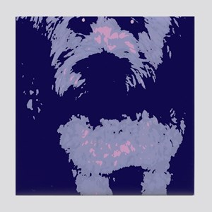 Wheaton Terrier Pop Art Tile Coaster