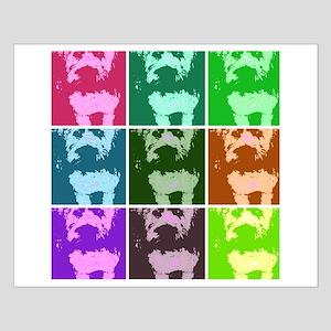 Wheaton Terrier Pop Art Small Poster
