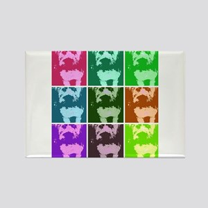 Wheaton Terrier Pop Art Rectangle Magnet