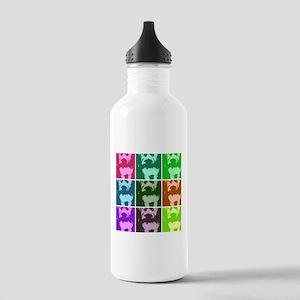 Wheaton Terrier Pop Art Stainless Water Bottle 1.0