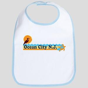 Ocean City NJ - Beach Design Bib