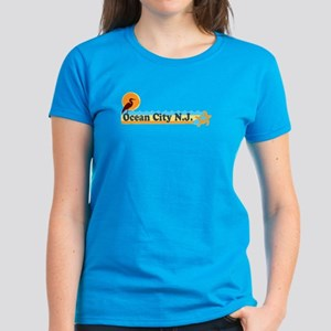 Ocean City NJ - Beach Design Women's Dark T-Shirt