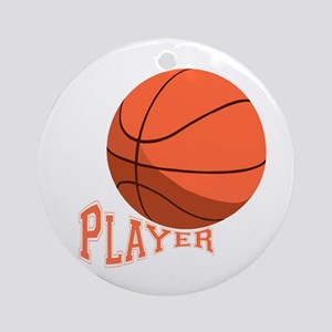 The Player Ornament (Round)