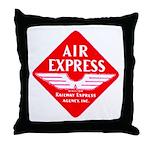 Air Express Throw Pillow
