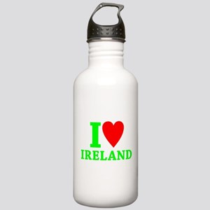 I LOVE IRELAND Stainless Water Bottle 1.0L