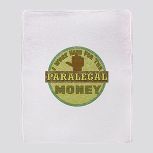 Paralegal Throw Blanket
