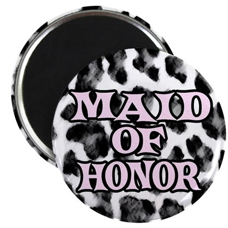 """Maid of Honor 2.25"""" Magnet (100 pack)"""