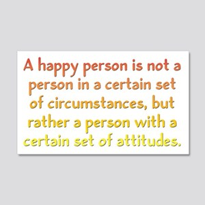 Happy Person 20x12 Wall Decal