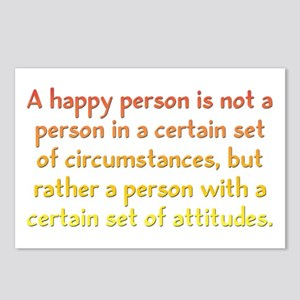 Happy Person Postcards (Package of 8)