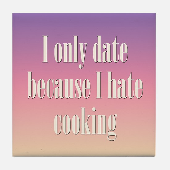 Cooking Date Tile Coaster