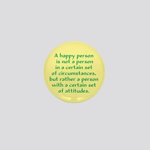Happy Person Mini Button