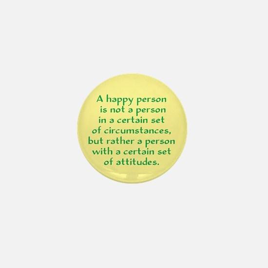 Happy Person Mini Button