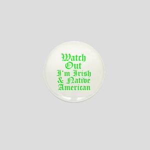IRISH NATIVE AMERICAN Mini Button