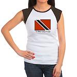 TRINIDAD Women's Cap Sleeve T-Shirt