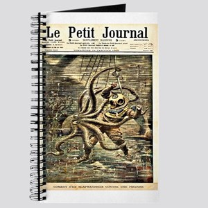 Deep Sea Diver VS. Octopus Journal