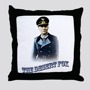Erwin Rommel Throw Pillow