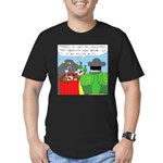How It All Started (No Text) Men's Fitted T-Shirt