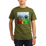 How It All Started (No Text) Organic Men's T-Shirt