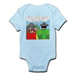 How It All Started (No Text) Infant Bodysuit