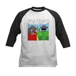 How It All Started (No Text) Kids Baseball Jersey
