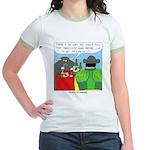 How It All Started Jr. Ringer T-Shirt