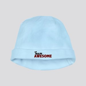 Team Awesome baby hat