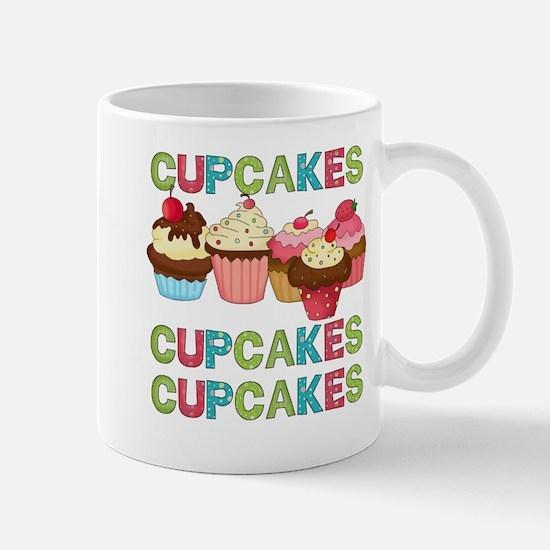 Cupcakes Cupcakes Cupcakes Mug
