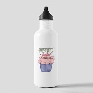 Cupcake Princess Stainless Water Bottle 1.0L