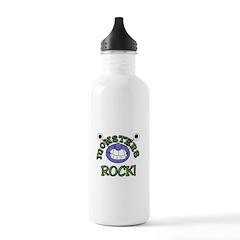 Monsters Rock Water Bottle
