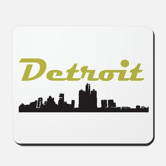 Detroit Girl - Simply, Detroi Mousepad