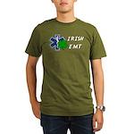 Irish EMT Organic Men's T-Shirt (dark)
