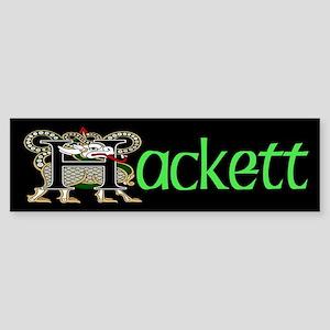 Hackett Celtic Dragon Bumper Sticker