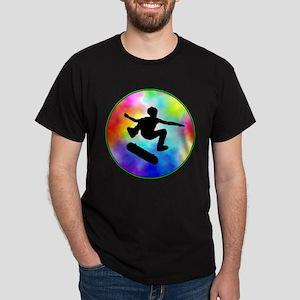 Tie Dye Skater Dark T-Shirt