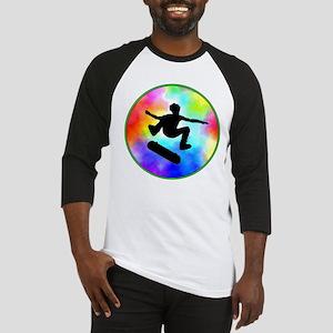 Tie Dye Skater Baseball Jersey