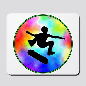 Tie Dye Skater Mousepad